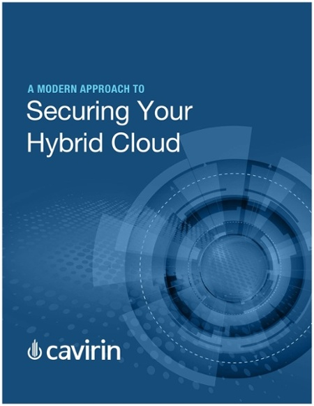 eBook = A Modern Approach to Securing Your Hybrid Cloud