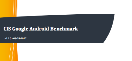 CIS Google Android Benchmark